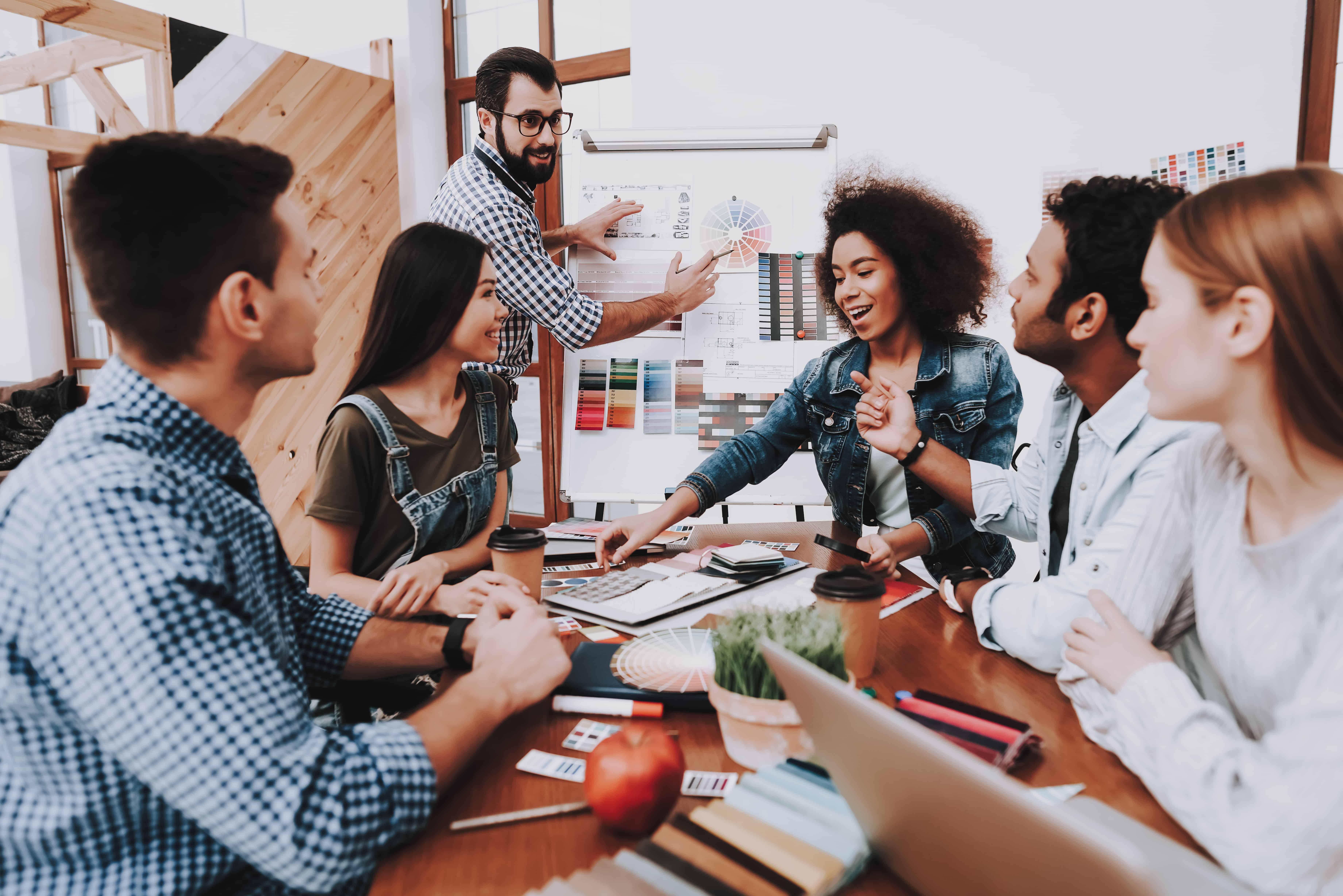 Diskussionen und Konflikte im Team führen zu der besten Lösung!